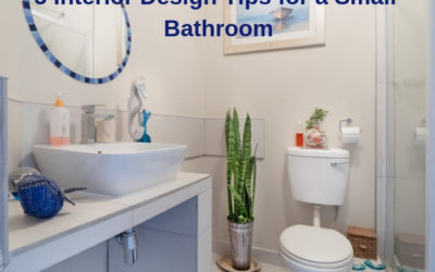 5 Interior Design Tips for a Small Bathroom