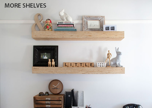 MORE-SHELVES