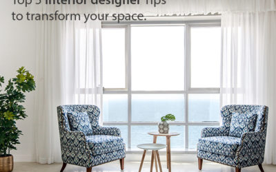 Top 5 Interior Designer Tips to Transform Your Space.