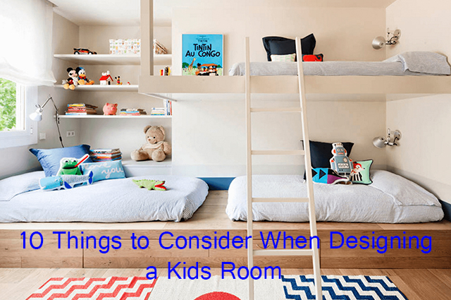 10 Things to Consider When Designing a Kids Room