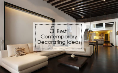 5 Best Contemporary Decorating ideas