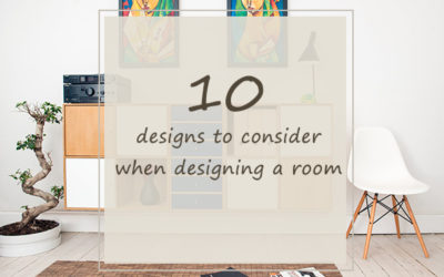 10 Designs to Consider When Designing a Room