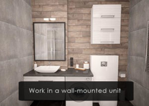 work-in-a-wall-mounted-unit